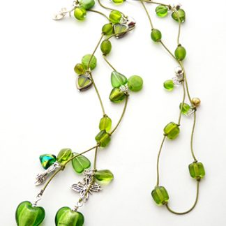 Lime Green Lariat