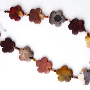 Mookalite Flower Necklace