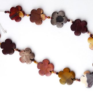 Mookalite Flower Necklace